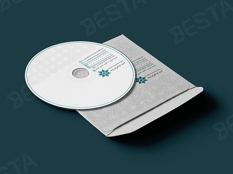 طراحی سی دی